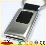 Chaîne principale personnalisée par qualité en gros de cuir en métal