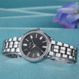 Reloj de señoras de la mujer del regalo del reloj del acero inoxidable (WY-019A)