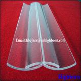 Parte trasparente di vetro di quarzo dell'arco di vendita calda