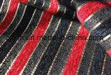 Ткань конструкции нашивки черная и красная синеля софы (FTH31003B)