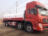 10000-20000litros tanque de pulverización de agua de camiones tanque carro sobre camión cisterna de agua potable