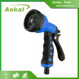 7 Muster-Spray-Düsen-Wasser-Farbspritzpistole für Garten