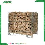 폴딩 바구니 콘테이너 상자를 겹쳐 쌓이는 주문품 철망사 깔판 저장 감금소