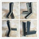 Ventana de aluminio de alta calidad con la operación abierta del marco (JFS-55002)