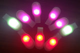 소형 자석 번쩍이는 선물 LED 클립 빛