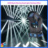 Etapa de equipos LED 260W Cabezal movible de haz de luz de lavado de eventos