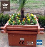 Made in China compuesto de plástico madera Caja de flores