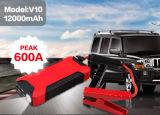 Инвертор силы стартера скачки батареи иона лития 12 вольтов автомобильный с заряжателем