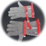 Анти--Отрежьте перчатки безопасности с выдвинутым тумаком тканья