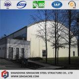 大規模な品質の耐火性のプレハブの鉄骨構造の倉庫の建物