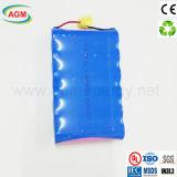 1s6p Icr 18650 3.7V de Batterij van het Lithium van het Pak van de Batterij 15000mAh
