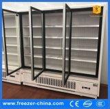 Loja usado frigorífico bebida do Chiller Displcy vertical do refrigerador de exibição