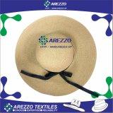 Chapéu de papel da praia da palha das mulheres (AZ017B)
