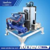 Máquina de hielo de alta calidad personalizado 4t escama de fábrica de hielo de agua de mar para la pesca