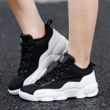 El baloncesto High-Top de los hombres se divierte los zapatos respirables ocasionales de la manera de las mujeres del acoplamiento de las zapatillas de deporte