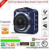 """2.0 """" полная камера черного ящика автомобиля HD 1440p с автомобилем DVR 4.0mega CMOS, G-Датчиком, ночным видением, паркуя видеозаписывающим устройством цифров черточки вагона управления"""
