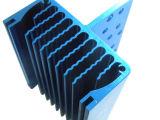 Dissipatore di calore di alluminio personalizzato dell'espulsione con lavorare di CNC