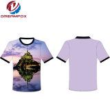 高品質の女性のためのヨーロッパのサイズデザイン海軍ブランクの人のTシャツ