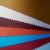 Vario cuero de la PU del modelo de Lichee de los colores para los bolsos y los zapatos (HSK105)