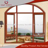 Qualitäts-Aluminiumprofil-Glasflügelfenster-Fenster mit Bogen-Entwurf