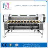 Impresora híbrida solvente de Eco con la lámpara ULTRAVIOLETA y las cabezas de impresora 1440dpi (MT-XR180) de la impresora de inyección de tinta de 2PCS Epson Dx5