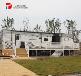 新しいデザイン既製の鉄骨構造の安いエクスポートのプレハブの家
