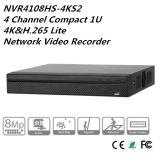 Canal 1u compacto 4K&H. 265 Lite NVR (NVR4108HS-4KS2) de Dahua 8