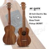 Aiersi électrique professionnel 26 pouces haut de la guitare solide Ukulele