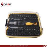 Ручной инструмент 101 ПК отвертки биты аккумулятор храповик отверткой с плоским лезвием,