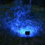 La lumière solaire RGBW IP65 extérieur d'horizontal à télécommande de 20 DEL imperméabilisent la lumière de jardin