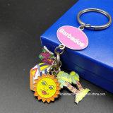 カスタム金属の柔らかいエナメルの休日日曜日Keychain