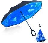 23inch 새로운 품목 휴대용 똑바른 반전 거꾸로 한 우산