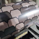 Du grain du bois texturé feuille de métal