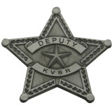 カスタム金属はアメリカの機密保護のサーブの金のバッジを切させる(bd027)