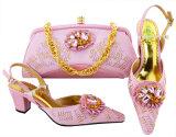 Venda de calçado e Bag enumerou as sapatas elegante bolsa e sapatos de correspondência italianas e bolsa para Senhoras