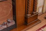 Cheminée électrique décorative à la maison avec du ce reconnu