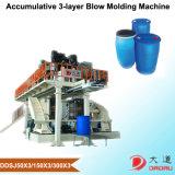 3つの層の空のプラスチック製品の生産のための放出のブロー形成機械
