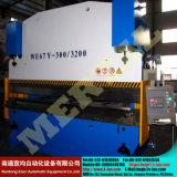 Машина системы управления CNC складывая, плита гибочной машины стальная, Wc67y