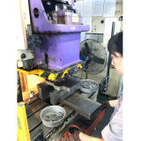 Изготовление металлического листа штемпелюя часть мотора