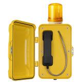 A Discagem automática multicanal telefone intercomunicador Weahterproof Industrial telefone de emergência
