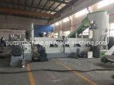 ペレタイジングを施す繊維容量800kg/Hの機械をリサイクルする