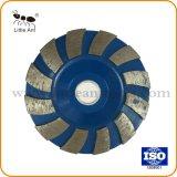 [90مّ] ماس يطحن فنجان عجلة أرضية يصقل لوحة [بوليش بد] جهاز أداة لأنّ حجارة