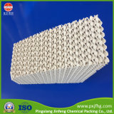 Теплообменник керамические гофрированный структурированных упаковки