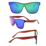 Лучший спортивный мужчин поляризованной вилкой для велосипедного движения можно настроить солнечные очки с вашим логотипом