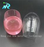 Plástico plástico Drinkware de los vidrios de vino del animal doméstico
