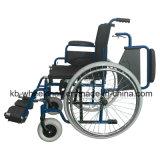 Qualité, fauteuil roulant se pliant facile