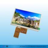 5.0inch 480*272 TFT LCD Bildschirmanzeige mit RTP oder CTP erhältlich