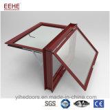 Guichet en verre d'épreuve de son de guichet de tente de tissu pour rideaux de guichet en aluminium