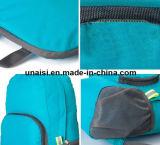 Plegado de nylon resistente al agua mochila de viaje Bolso doble