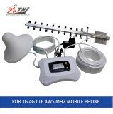 Repetidor móvel inteligente do impulsionador 3G 4G do telefone de pilha do impulsionador do sinal de Aws1700MHz